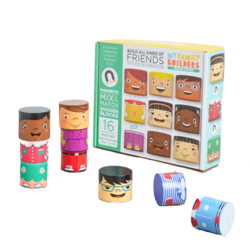 A placeholder image for for MyFamilyBuilders: Mix&Match Spielfiguren aus Holz (16-teilig)
